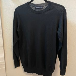 Zara Black Lightweight Sweater, Size Small